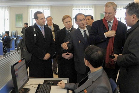 Internet tại Triều Tiên nhìn từ chuyến thăm của sếp Google