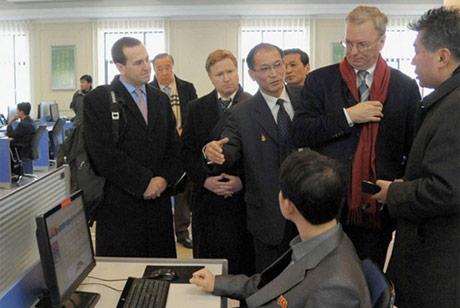 Chủ tịch điều hành Google Eric Schmidt