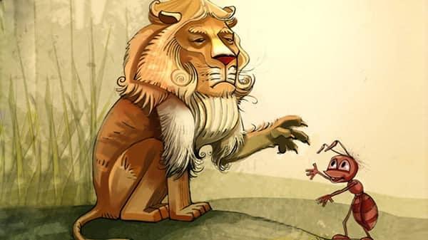 Kiến và Sư tử: Ai đã, sẽ là ông chủ nhất định phải đọc