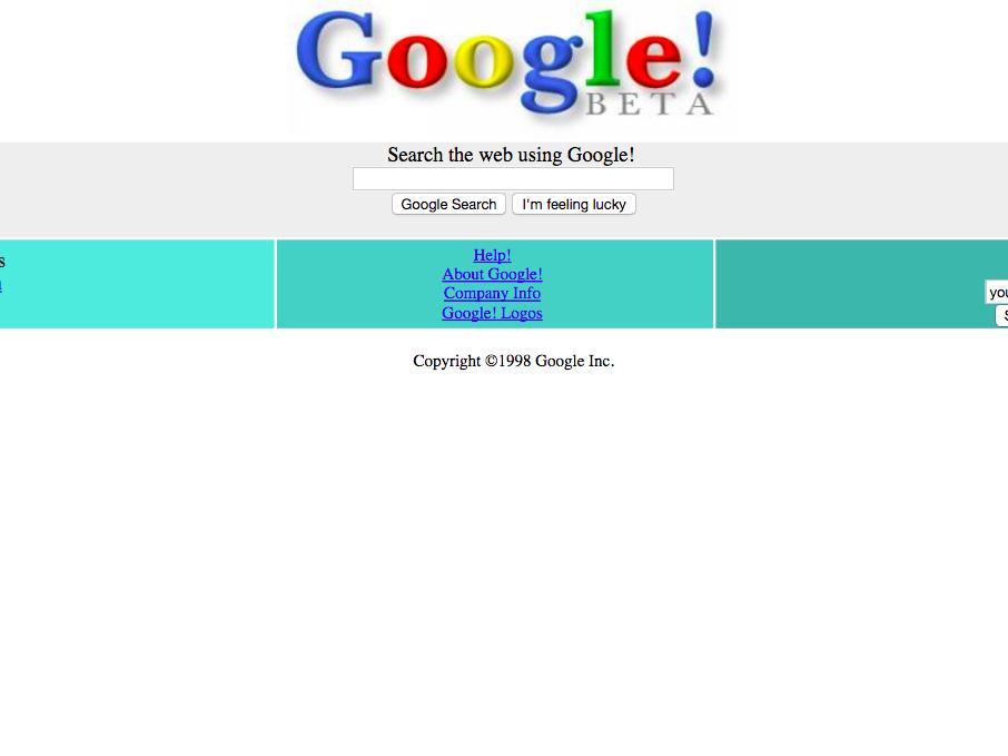 Sự thay đổi giao diện website trong thập kỷ qua các thương hiệu nổi tiếng
