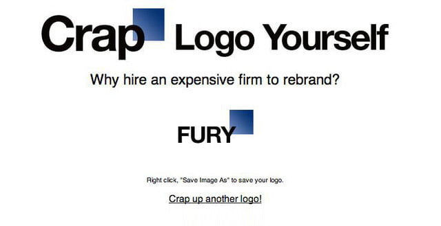 Crap Logo Yourself!