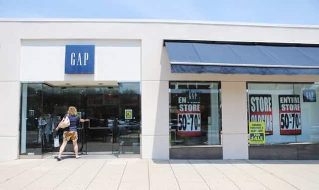 tình hình kinh doanh của GAP bị ảnh hưởng ngay sau đó